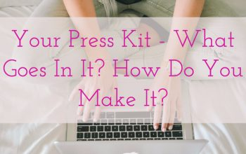 Author Press Kit – Do You Need One? What Goes In It?