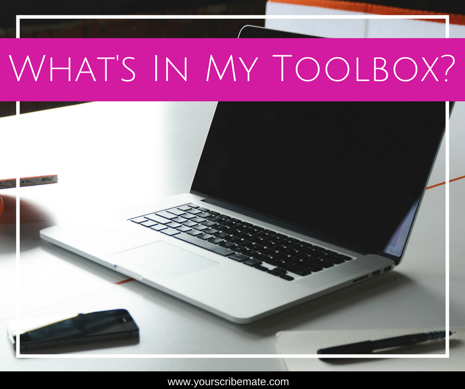 Blog Image for my What's In My Toolbox Resource series